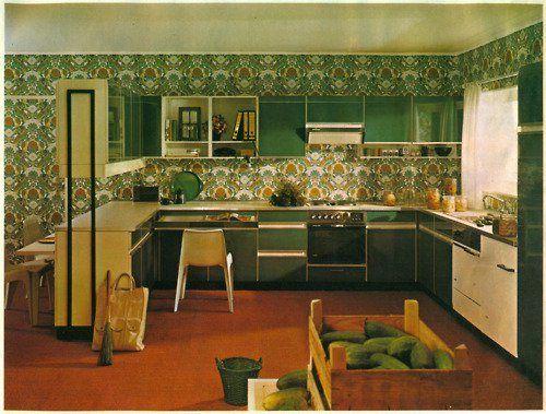 VINTAGE PICS Design d'intérieur rétro, Design intérieur