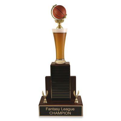 Mvp Beer Basketball Trophy Basketball Trophies Mvp Trophy