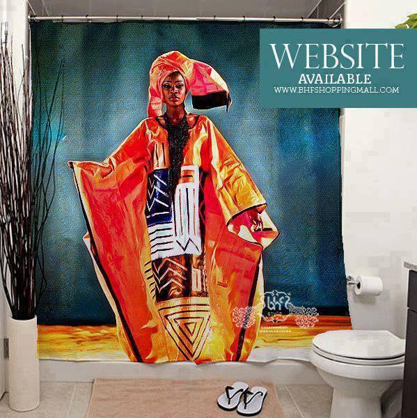 Rare African Shower Curtains http://bhfshoppingmall.com ...