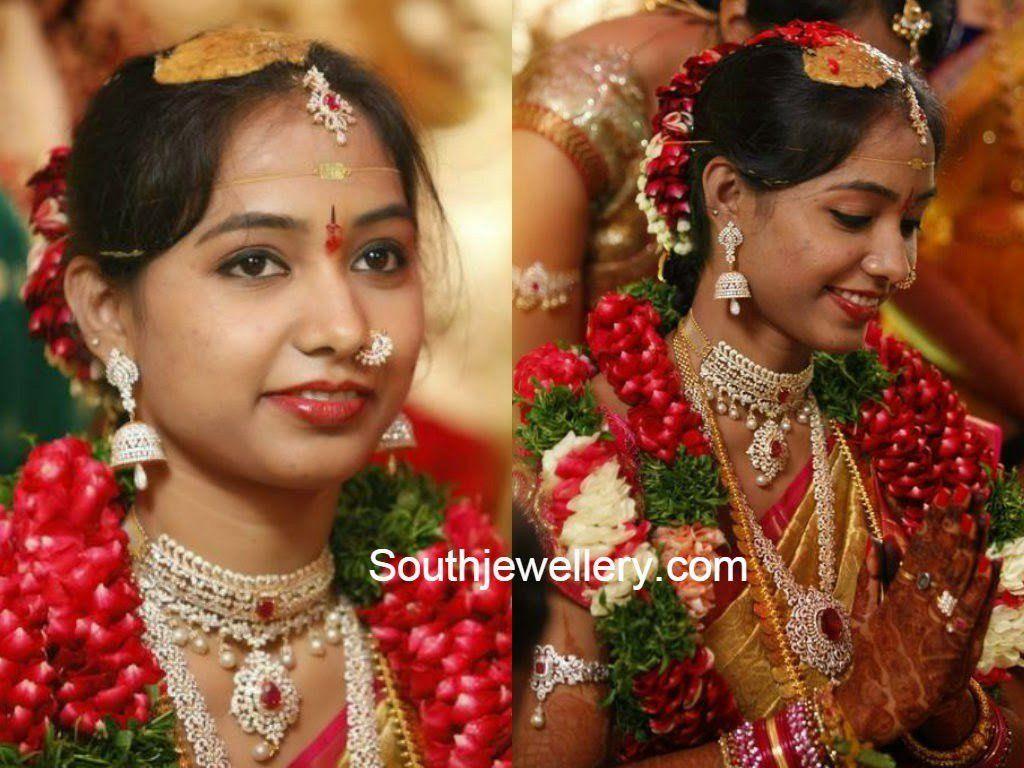 Suhasini in gundla haram jewellery designs - Real Brides Latest Jewelry Designs Page 20 Of 36 Jewellery Designs