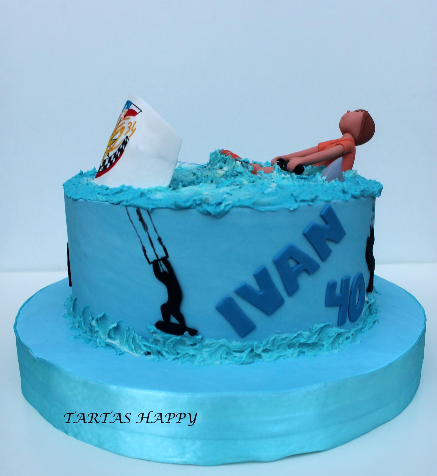 cake design kite kiteboarders birthday cake ideas for men - Google Search  Toy