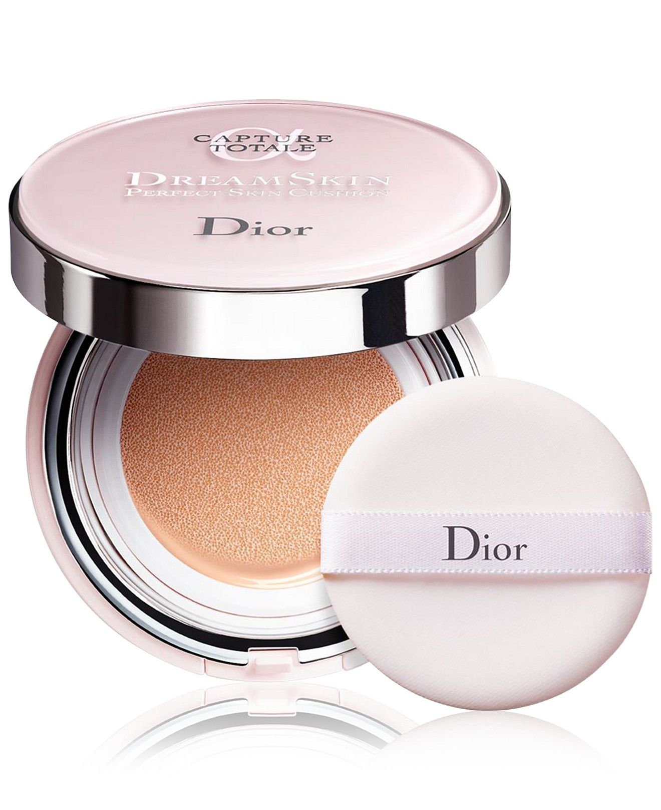 Dior Capture Totale Dreamskin Perfect Skin Cushion Broad Spectrum Spf 50 0 5 Oz Reviews Foundation Beauty Macy S Dior Capture Totale Dior Makeup Dior Beauty
