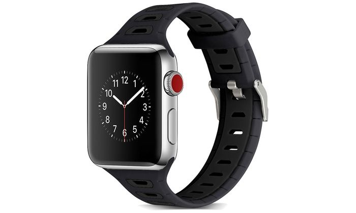 Sports Silicone Replacement Band for Apple Watch Apple