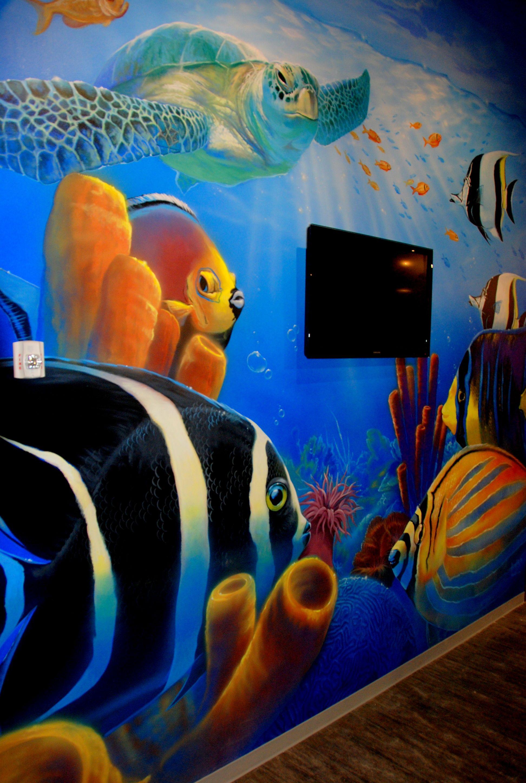 Undersea mural murals provo beach resort pinterest ocean undersea mural amipublicfo Gallery