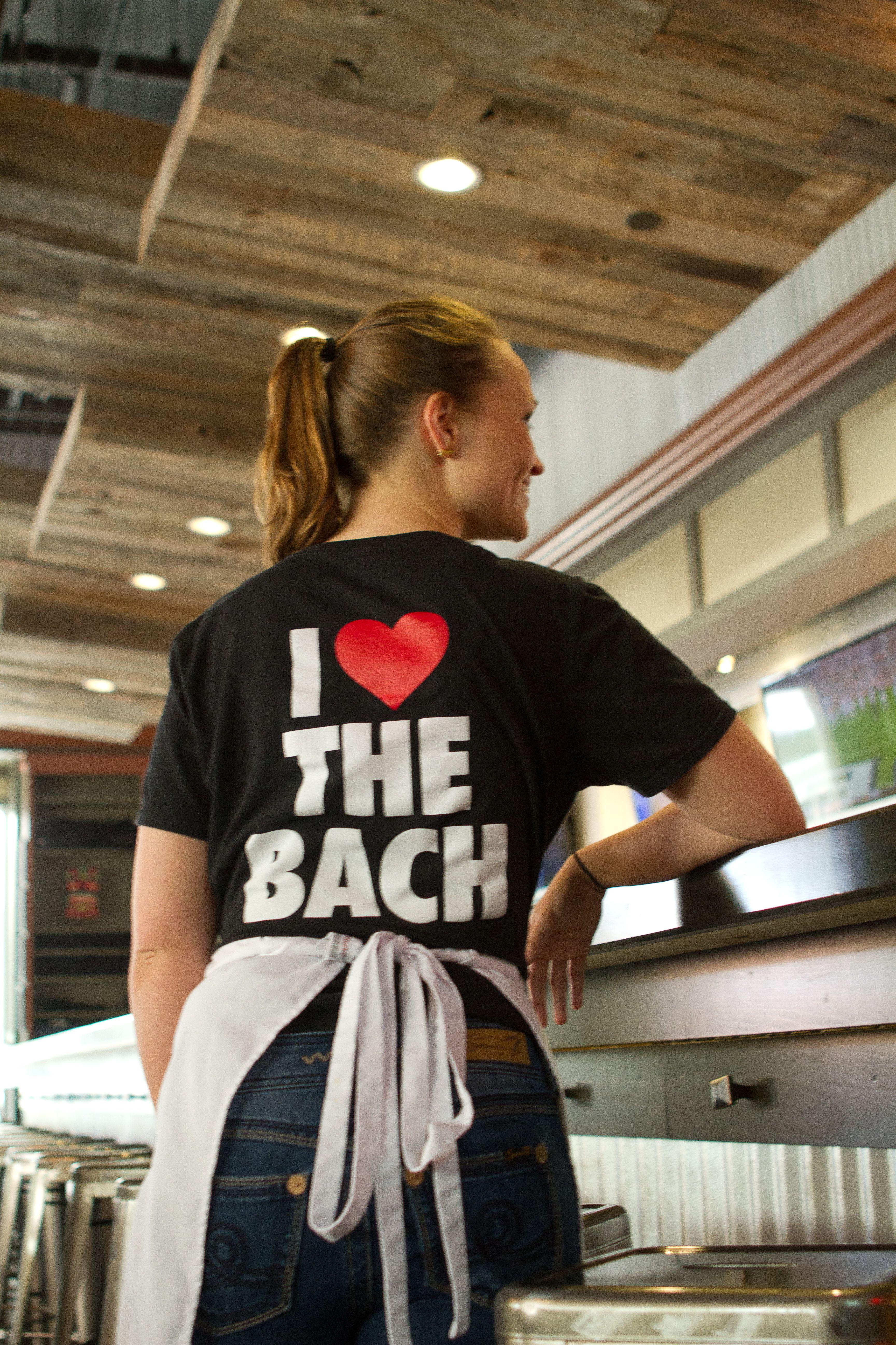 Burger Bach t-shirts: I LOVE THE BACH #burgerbach