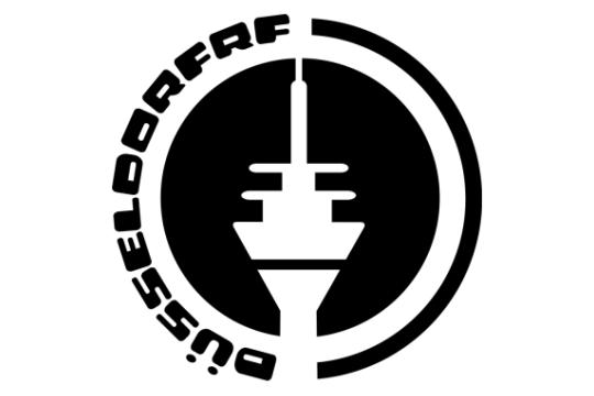 Fernsehturm Düsseldorf Logo von ro70 wandtattoo
