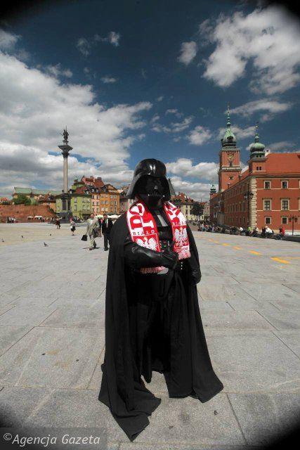Nawet Lord Vader kibicuje Polsce