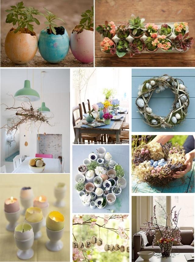 osterdekorationen kreative ideen haus selber machen eierschalen ... - Kreative Ideen Selber Machen