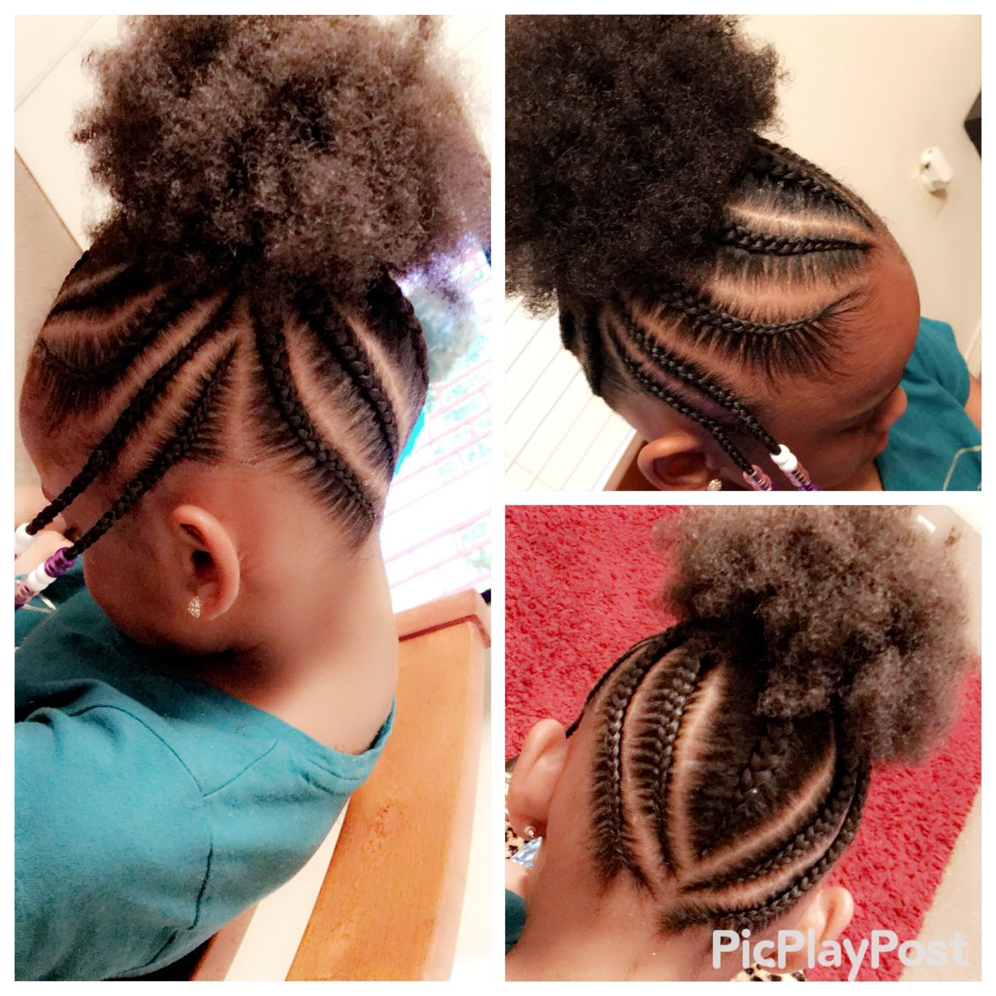 Kids Braids Girls Natural Hairstyles Baby Hairstyles Kids