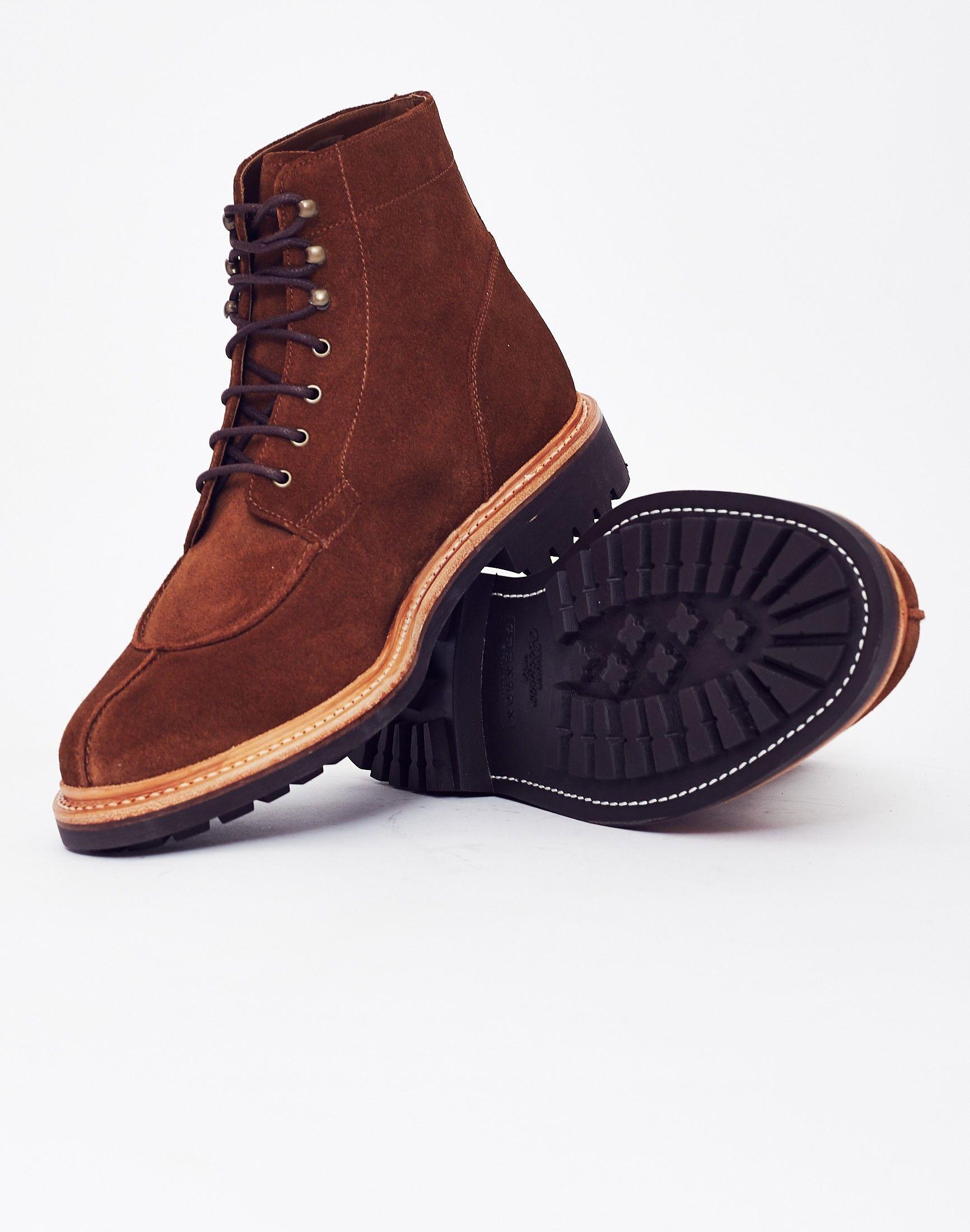 72dfc768b71 Grenson Grover Suede Boot Brown Botas Zapatos