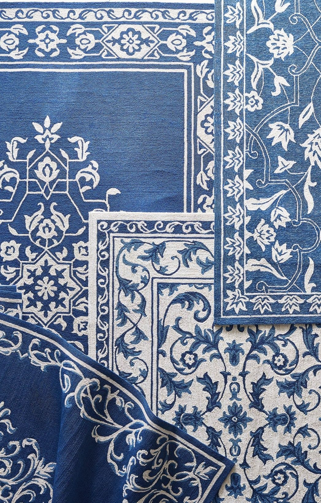Outdoor Rugs In Shades Of Blue Yes Please Blue Outdoor