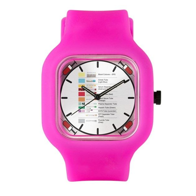 2f0fcfc8e3e Great for Phlebotomists. Order of draw watch. Makes a Great Gift ...