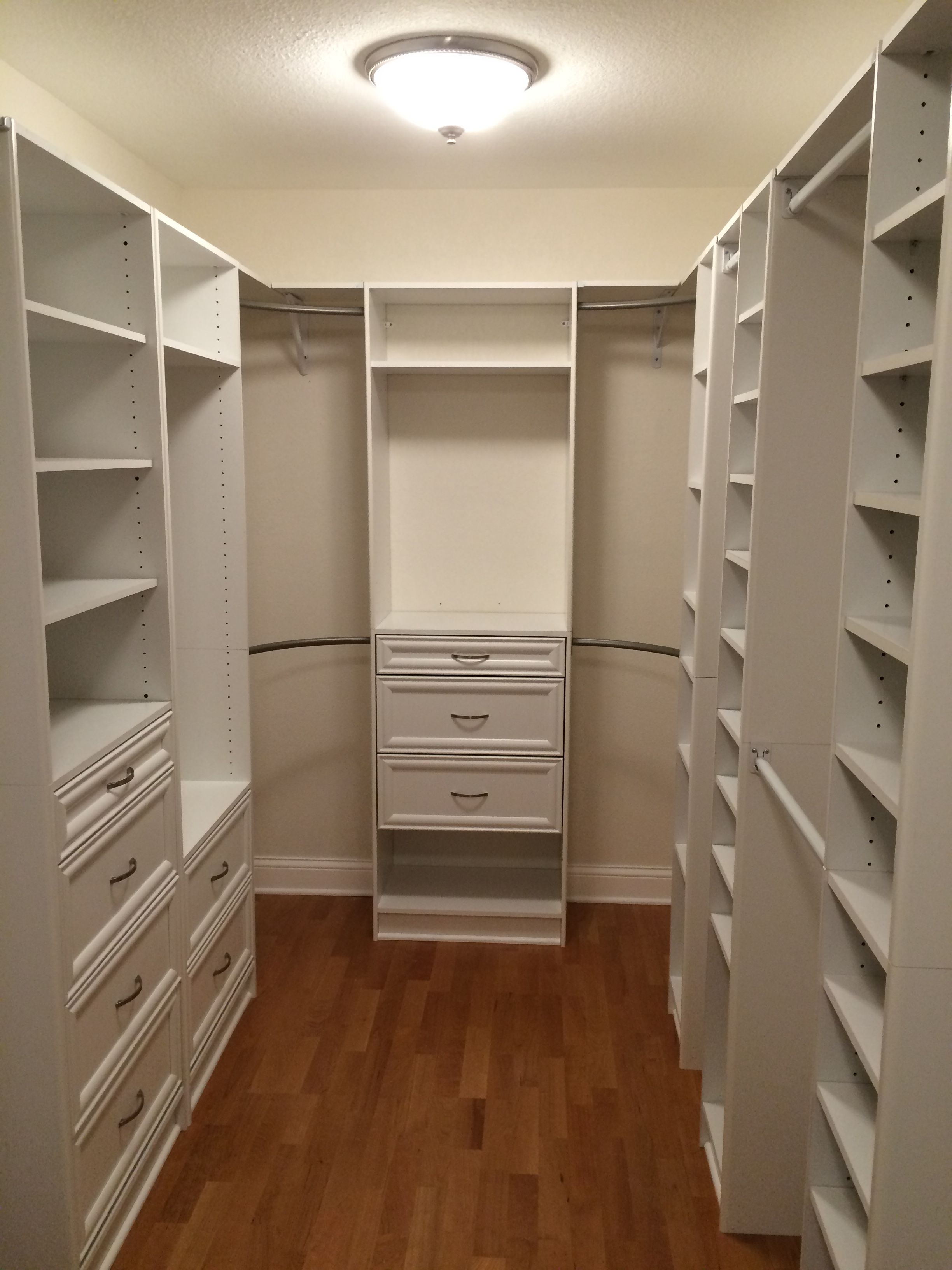 Master Closet Our Projects In 2019 Master Bedroom