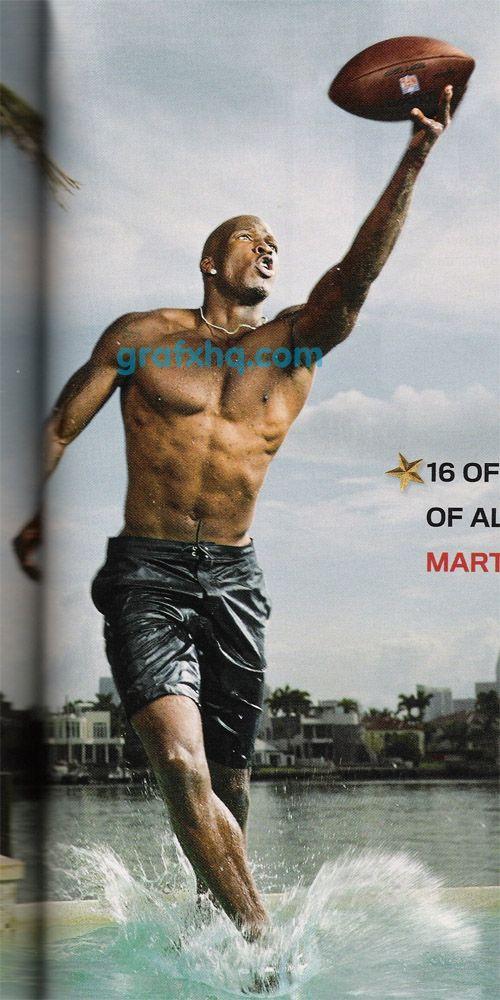 johnson Chad shirtless ochocinco