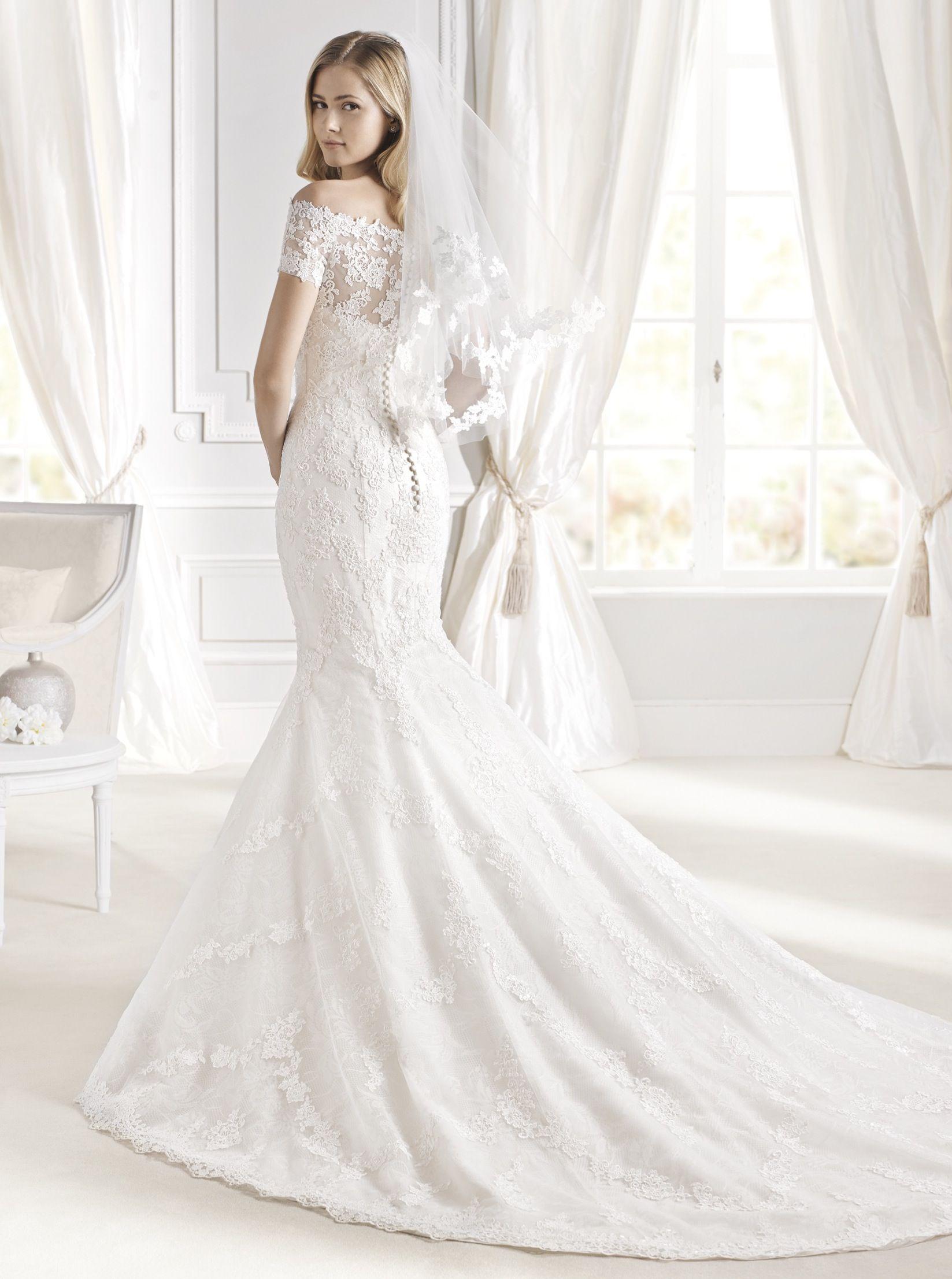 3e046a3c83304 IDALINA La Sposa, 2015 collection! #idalina #lasposa #bridal available now  at www.emmavictoriapayne.com