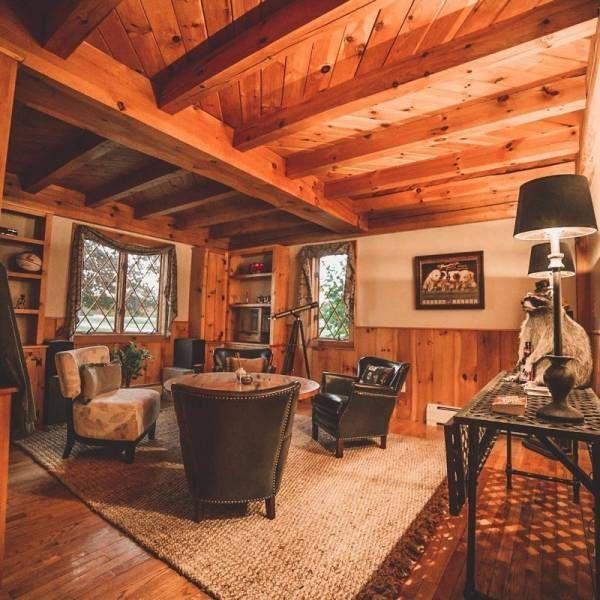 Прекрасные деревянные дома (25 фото)   Интерьер ...