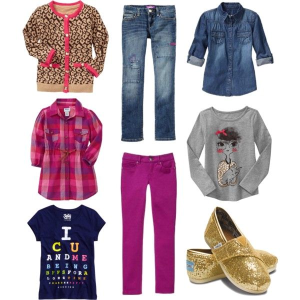 d1a8b7197 Mix and match outfits for little girls | For the kids | School ...