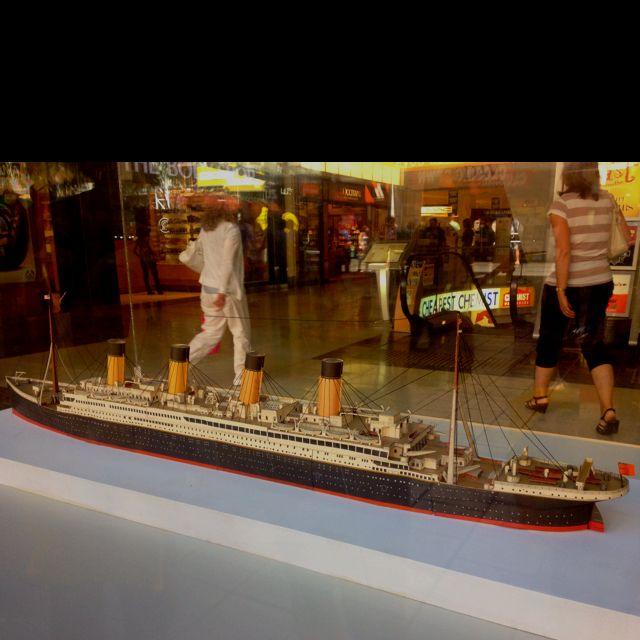 RMS Titanic remodelled