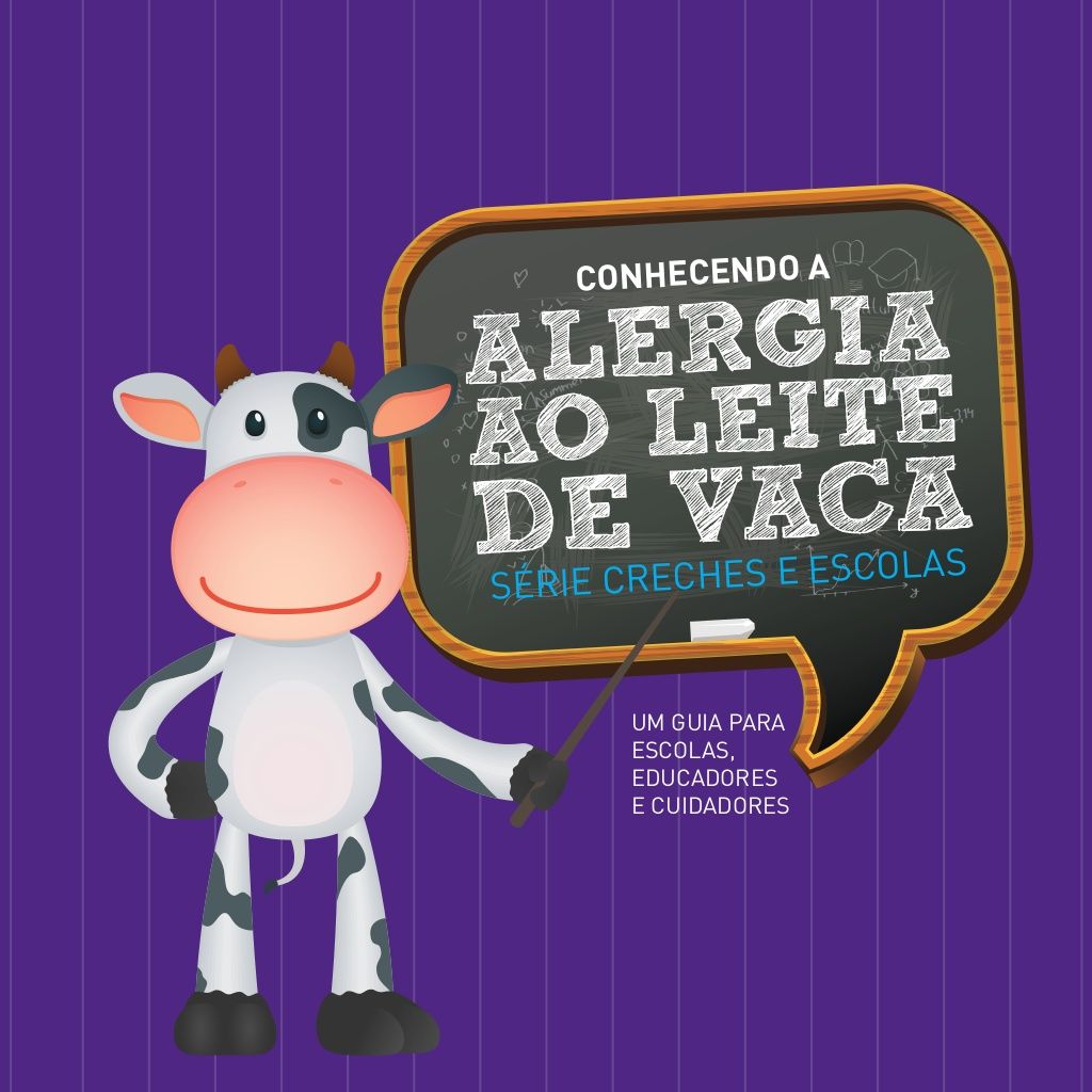 Folheto Aplv Escolas Alergia Alimentar Alergia Ao Leite Alergia