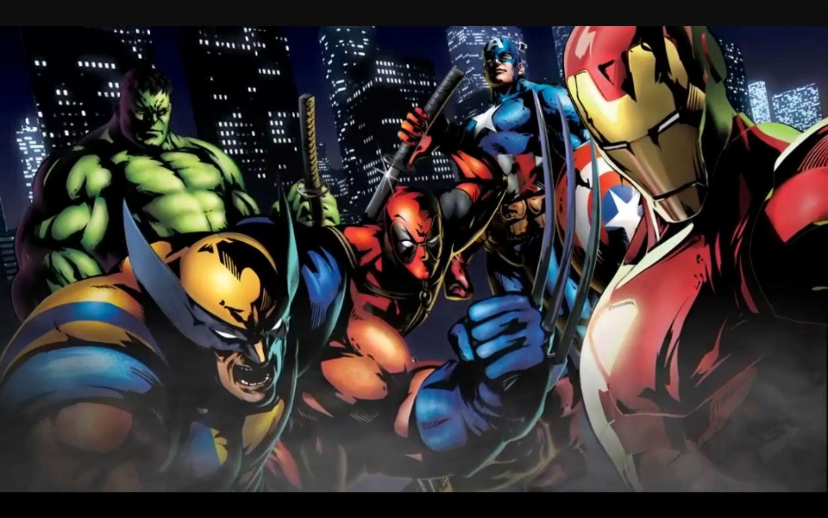 Hulk, Wolverine, Marvel Comics, Superman HD Wallpaper Desktop Background