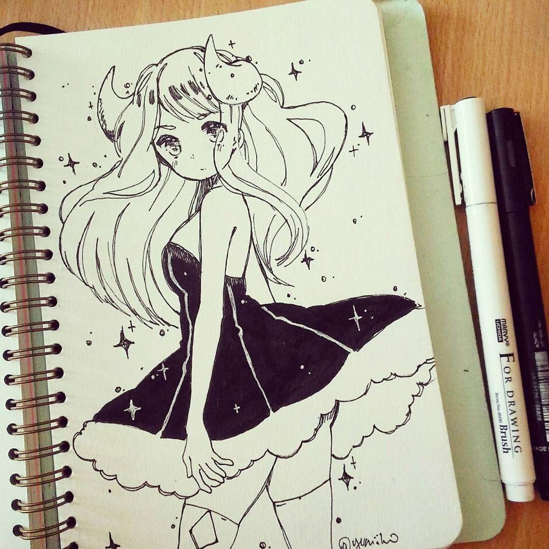 Прикольные картинки для срисовки в скетчбук легкие для девочек аниме, окошечком своими