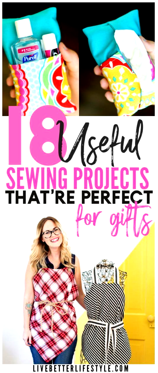 These sewing projects are easy to make and useful for daily life and the great thing is you can sell it and make some money for yourself Definitely a must read post