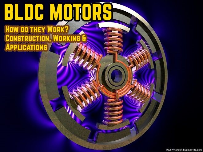 What Is Brushless Dc Motor Bldc Construction Working Free Energy Tesla Electronic Engineering