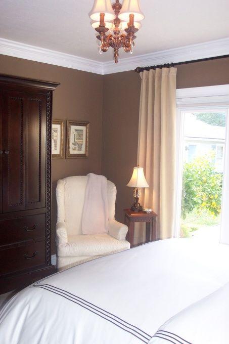 Benjamin Moore Davenport Tan Brown Walls Living Room Best