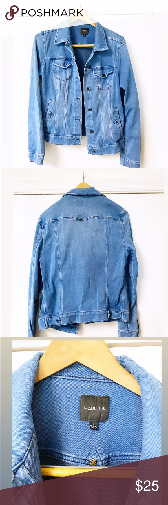 Liverpool Jean Jacket Liverpool Jeans Jackets Jean Jacket [ 1740 x 580 Pixel ]