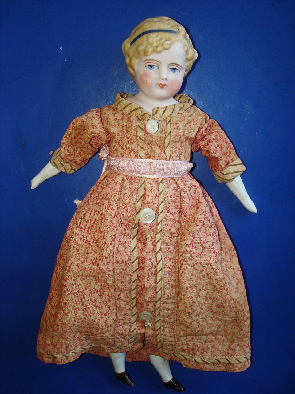 10 Simon Halbig Parian Lady Doll Germany 1869 On Alice Style