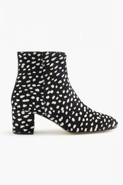 The Hottest Booties You'll Be Wearing All Autumn Long #refinery29 These vintage-inspired booties are…