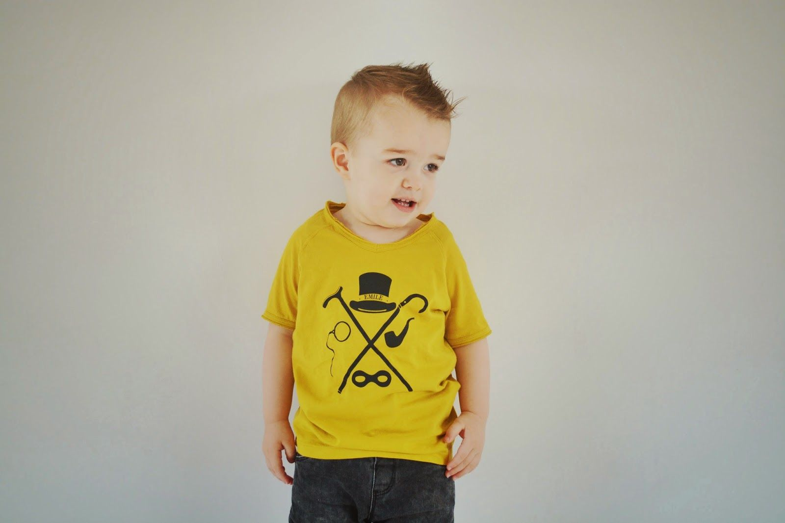 Saved with style: Mini fashion | Noah's outfit #4: yellow for cool boys only
