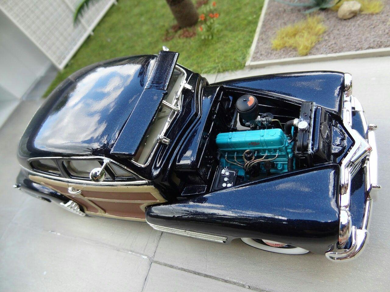 1948 Chevy Fleetline 1 25 Model Kit By Marc Antoine Model Kit Scale Models Cars Car Model