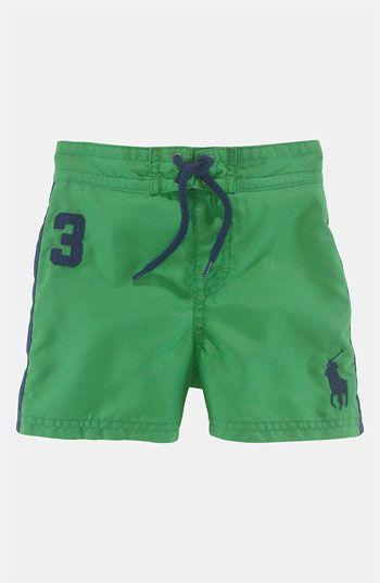 0732851680 Ralph Lauren Swim Trunks (Infant) available at #Nordstrom | armani ...