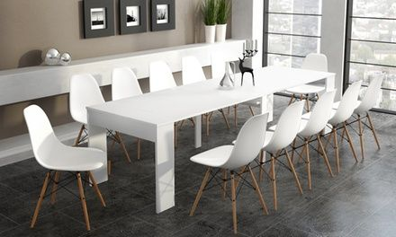 Sedie Groupon ~ Groupon goods global gmbh extending dining table console for £