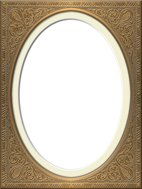 Presentation Photo Frames Tall Fancy Oval Style 43 Nothing But