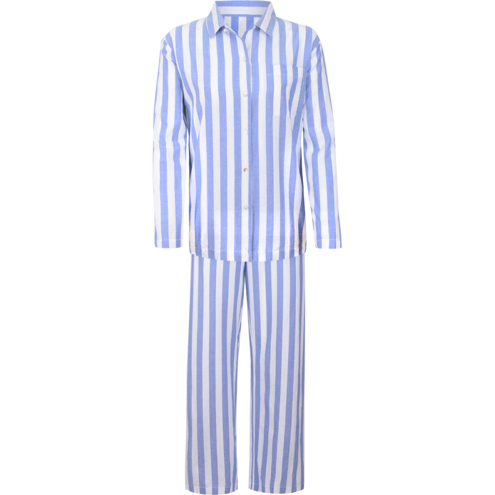 aadb1e4b69a9 blue and white striped pajams