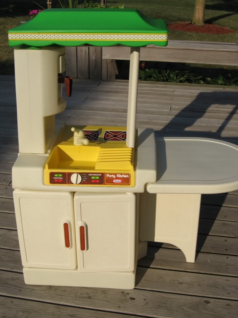 Little tikes party kitchen back in the day pinterest for Little boy kitchen set