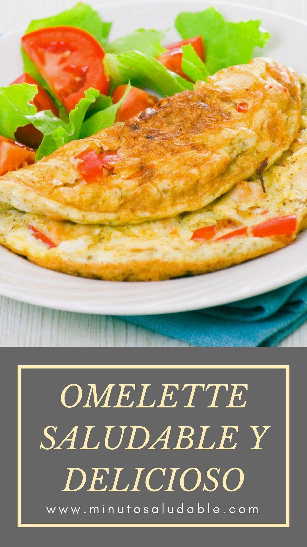 Omelette Recetas Saludables Comida Recetas Saludables Desayuno