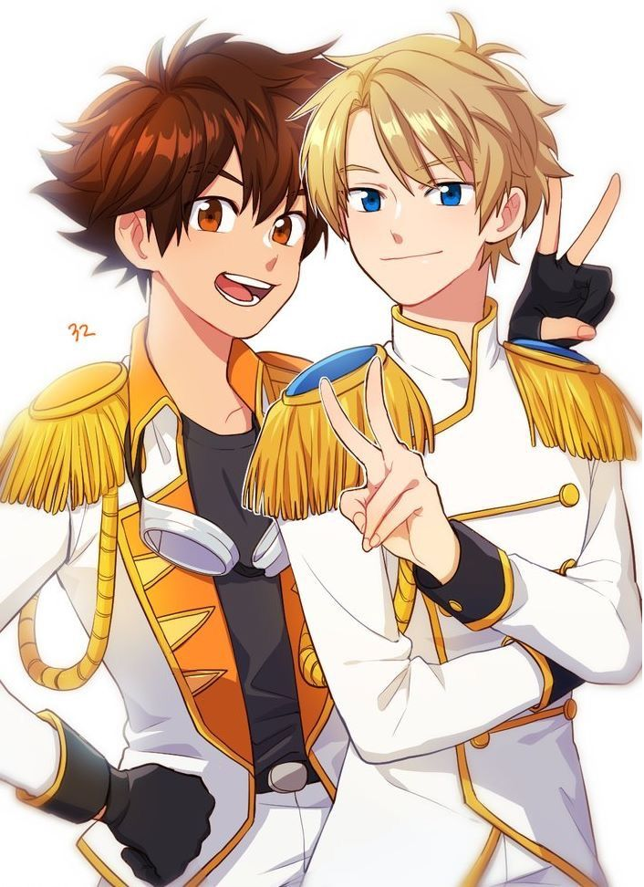 Tai and Matt  Taichi and Yamato  Digimon Adventure tri