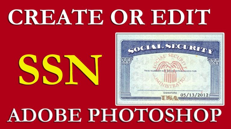 How To Edit Ssn Ssn Pdf Template Download Free On Vimeo For Social Security Card Template Download Card Templates Free Social Security Card Pdf Templates