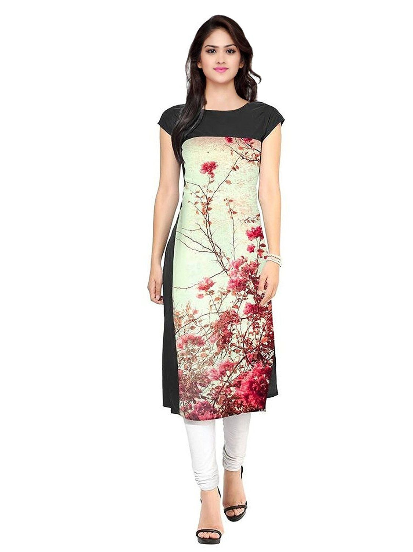 9bfbb4bbfb kurtis for women digital print kurti size-XXL: Amazon.in: Clothing &  Accessories