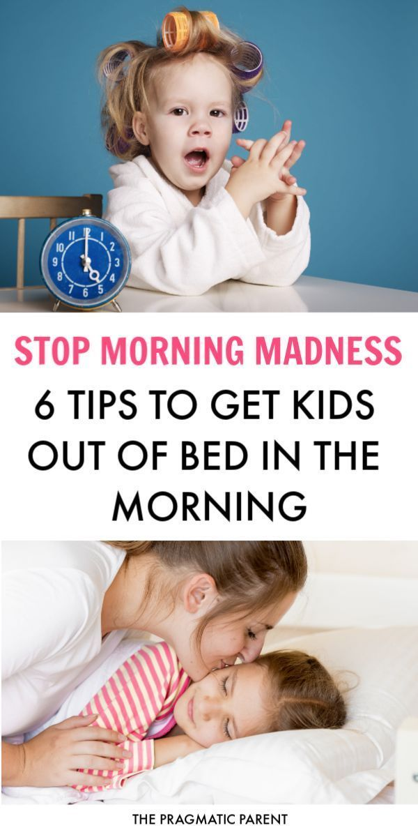 Waking up Kids: 6 Tips to Get Kids Out of Bed in the ...