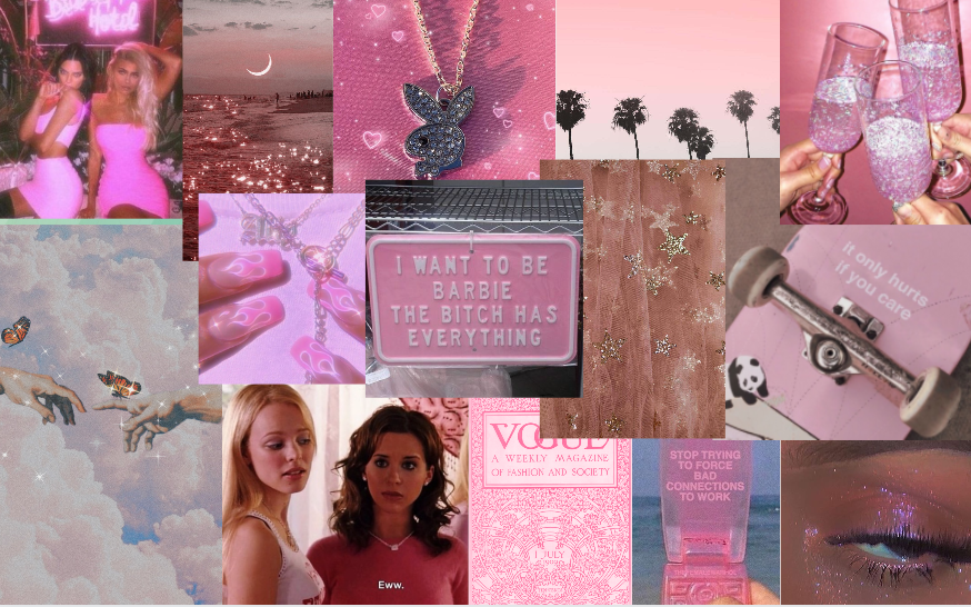 Macbook Screesaver Pink Aesthetic In 2020 Aesthetic Desktop Wallpaper Cute Laptop Wallpaper Iconic Wallpaper