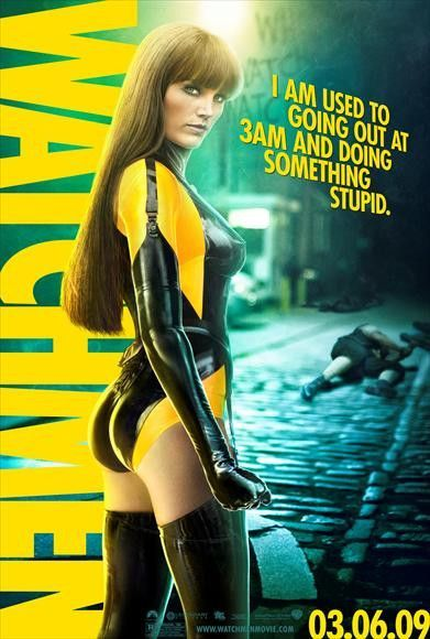 Watchmen Movie Spectre Soyeux Series 1 figure