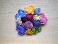 I cuori a maglia   Handmade by Beads and Tricks