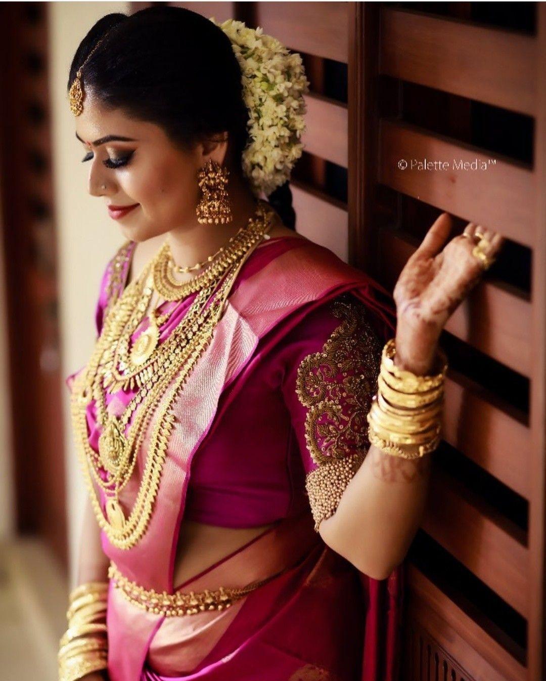 Kerala Wedding Bridal Images: Saree Wedding, Wedding Saree Indian