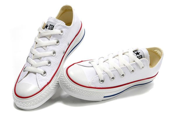 42f307b742c1b1 Converse Chuck Taylor All Star Low Top Optical White Canvas Shoes  101000   -  44.00   California Status Converse