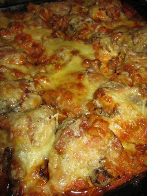 Teri konyhája: Tepsis csirke