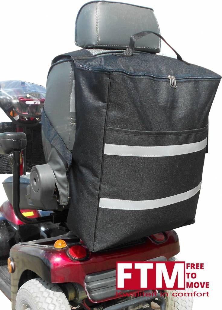 174c909665a Zeer handige en vooral ruime boodschappentas voor aan de scootmobiel!